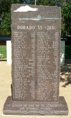 Dorado SS (248) Memorial image. Click for full size.