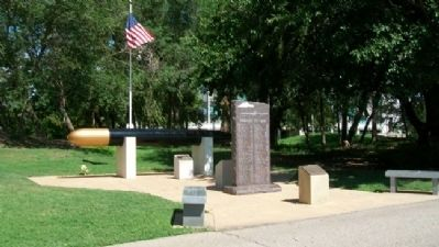 U.S. Submariner Memorials at Veterans Memorial Park of Wichita image. Click for full size.
