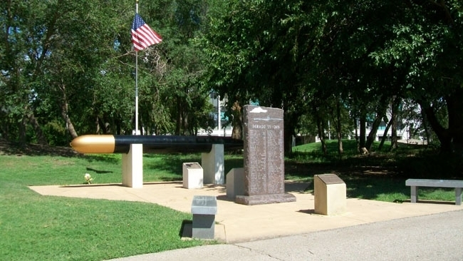 U.S. Submariner Memorials at Veterans Memorial Park of Wichita