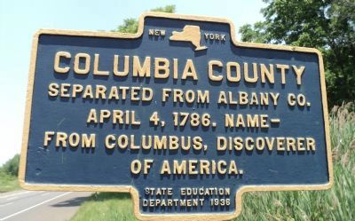 Columbia County Marker image. Click for full size.