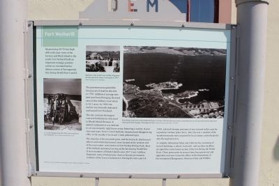 Fort Wetherill Marker image. Click for full size.