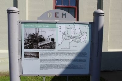 Harbor Mine (Torpedo) Complex Marker image. Click for full size.