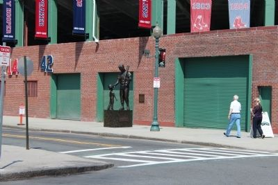 Ted Williams Marker image. Click for full size.
