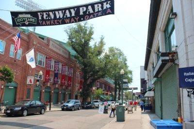New Fenway Park Marker image. Click for full size.