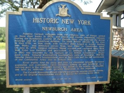 Newburgh Area Marker image. Click for full size.