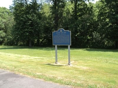 Marker on the New York State Thruway image. Click for full size.