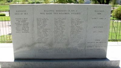 USMM Veterans of World War II Memorial (Side B) image. Click for full size.