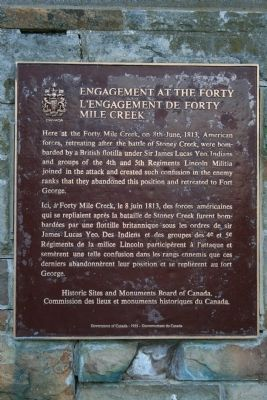 Engagement at the Forty Marker image. Click for full size.