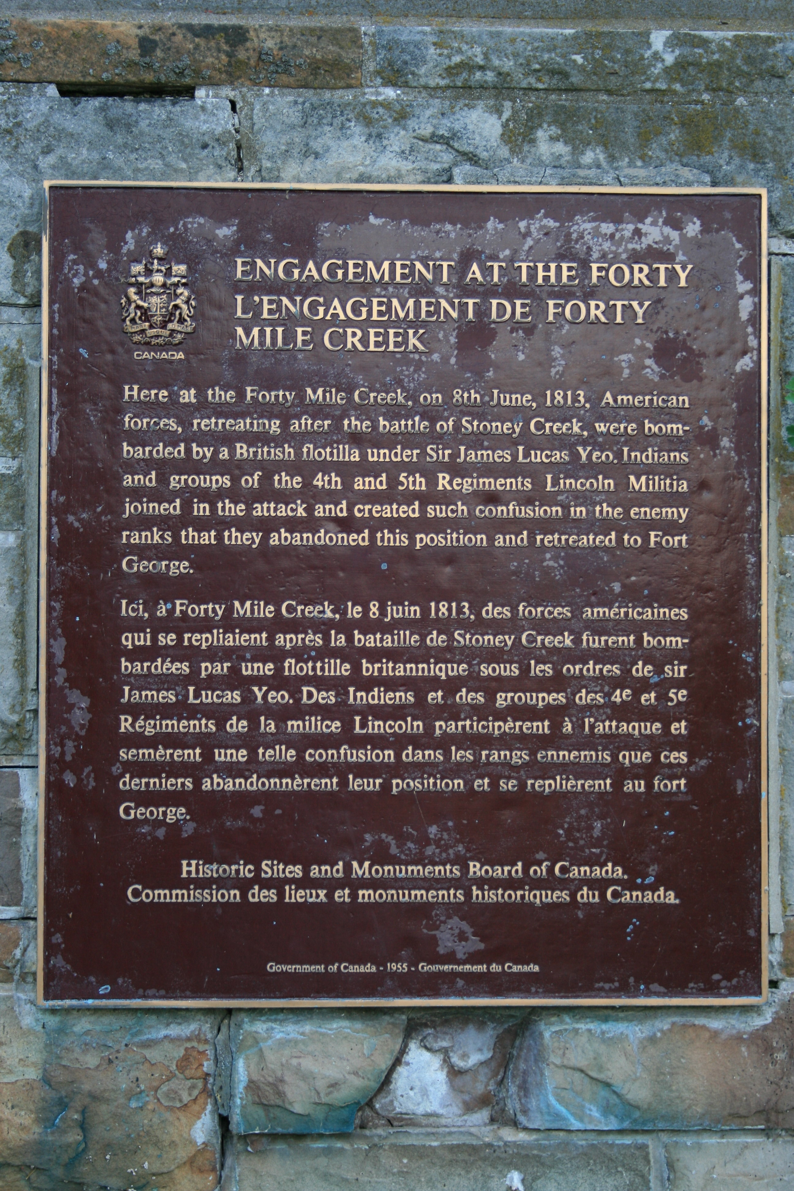 Engagement at the Forty Marker