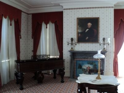 Lindenwald's Formal Parlor image. Click for full size.