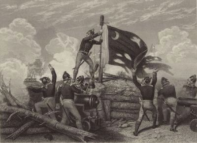 Battle of Sullivan's Island image. Click for full size.