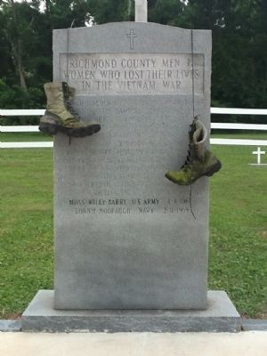 Richmond County Vietnam War Memorial Marker image. Click for full size.