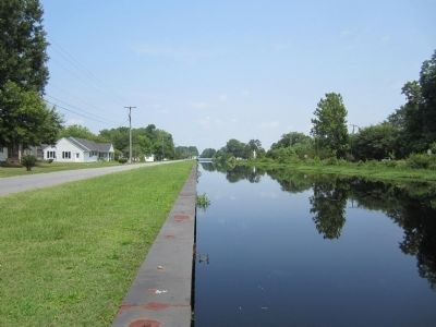 Dismal Swamp Canal image. Click for full size.