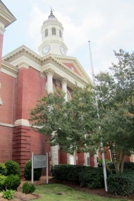 Pasquotank County Courthouse 1882 Marker image. Click for full size.