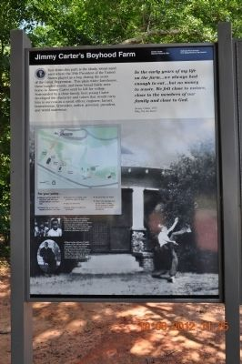 Jimmy Carter's Boyhood Farm Marker image. Click for full size.