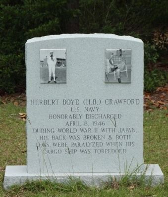The Crawfords Memorial Herbert Boyd Crawford Marker image. Click for full size.