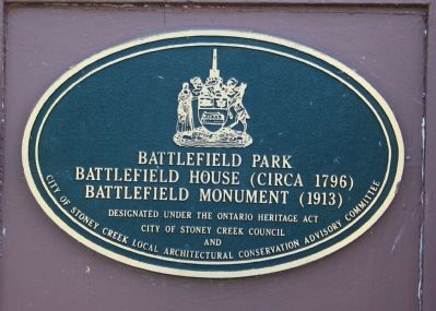 Battlefield House Marker image. Click for full size.