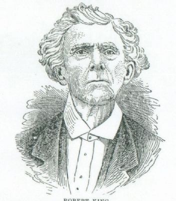 Rev. Robert King<br>Second Pastor of Big Creek<br>Founder of Neal&#39;s Creek Baptist image. Click for full size.
