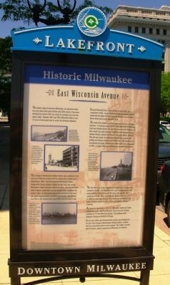 Historic Milwaukee Marker image. Click for full size.
