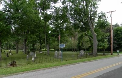 Wide view of the Burial Site Marker image. Click for full size.