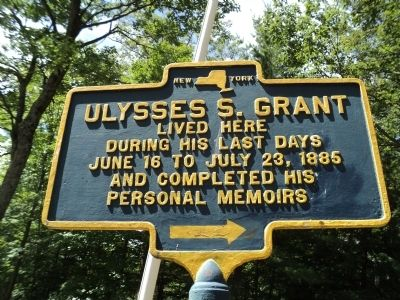 Ulysses S. Grant Marker image. Click for full size.