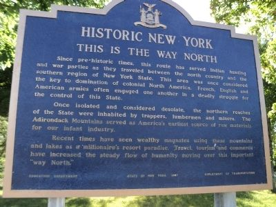 This is the Way North Marker image. Click for full size.