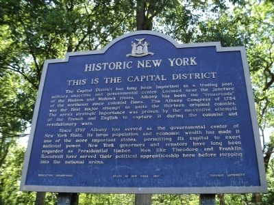 This is the Capital District Marker image. Click for full size.