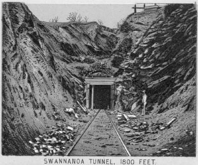 Swannanoa Tunnel image. Click for full size.