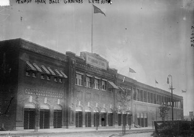 Fenway Park (image courtesy of the Library of Congress) image. Click for full size.