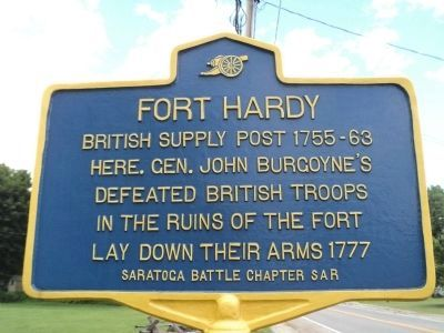 Fort Hardy Marker image. Click for full size.