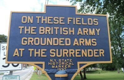 British Army Grounded Arms Marker image. Click for full size.