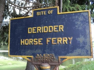 Deridder Horse Ferry Marker image. Click for full size.