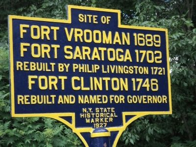 Fort Vrooman Marker image. Click for full size.