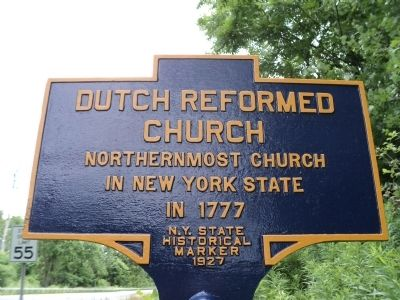 Dutch Reformed Church Marker image. Click for full size.