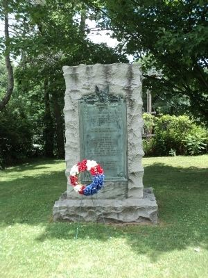 Schuylerville World War I Monument image. Click for full size.