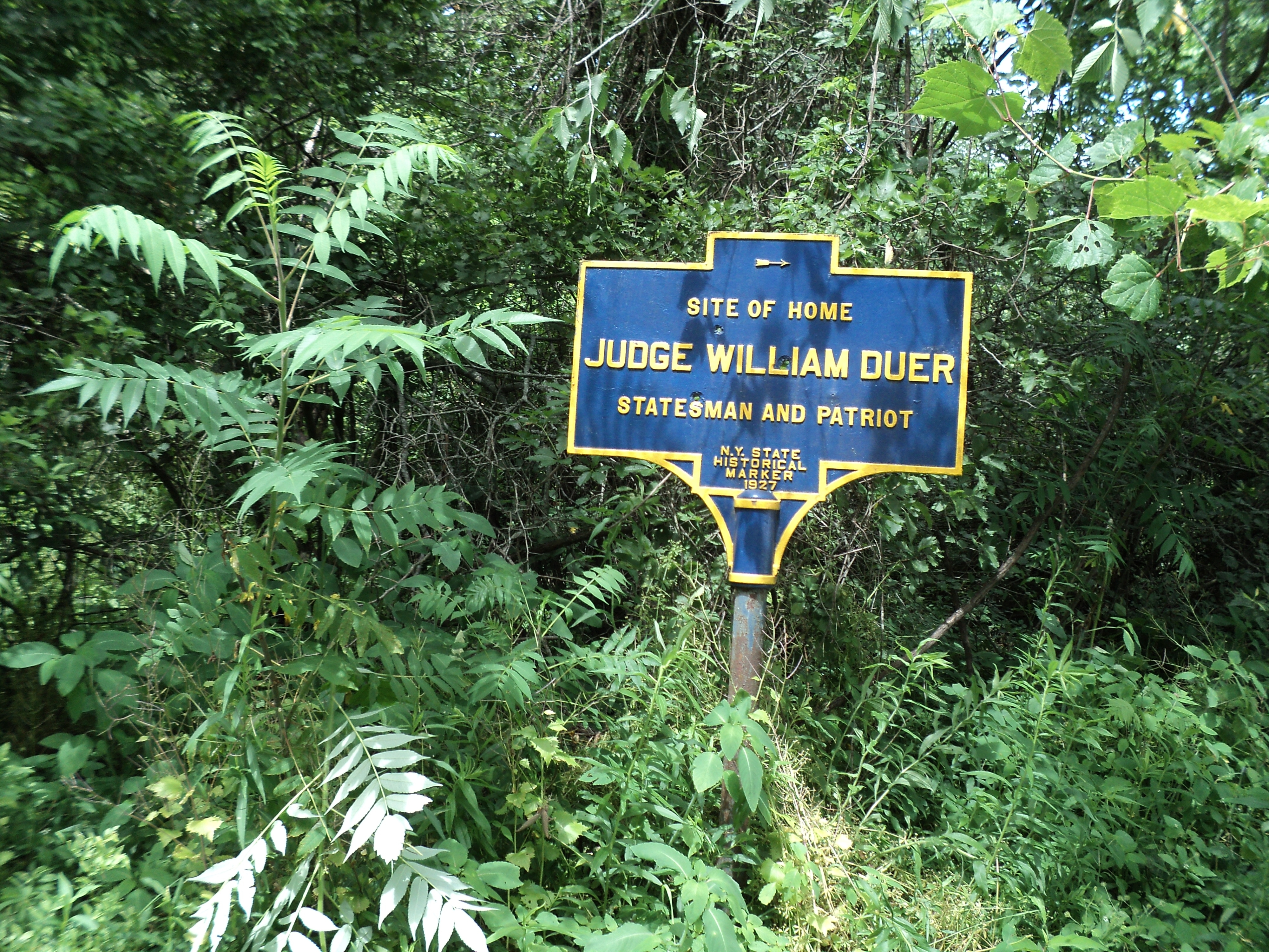 Judge William Duer Marker