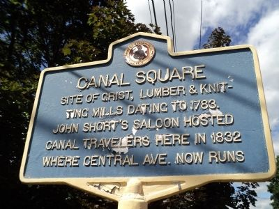 Canal Square Marker image. Click for full size.