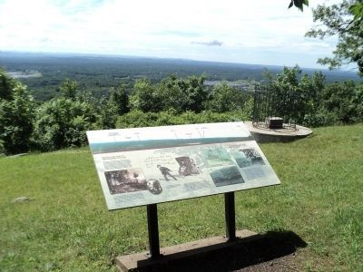 Marker at the Eastern Outlook image. Click for full size.