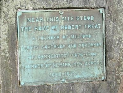 Home Site of Robert Treat Marker image. Click for full size.