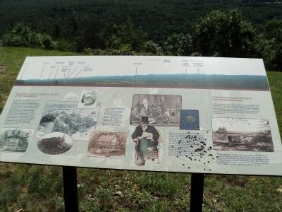 The Hotel and Ulysses S. Grant at Mt. McGregor Marker image. Click for full size.