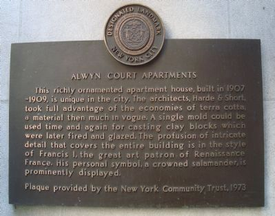 Alwyn Court Apartments Marker image. Click for full size.
