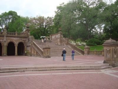 Bethesda Terrace image. Click for full size.