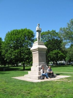 Guilford Soldier's Monument image. Click for full size.