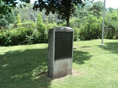 Gen. Henry Knox Trail Marker as it appeared image. Click for full size.