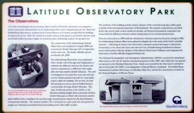 The Observatory Marker image. Click for full size.
