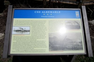 CSS Albemarle CWT Marker image. Click for full size.