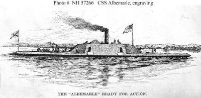 CSS Albemarle (1864-1864) image. Click for full size.