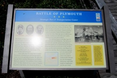 Battle of Plymouth CWT Marker image. Click for full size.