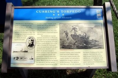 Cushing's Torpedo CWT Marker image. Click for full size.