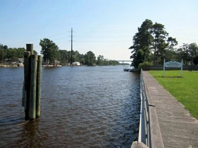 Albemarle & Chesapeake Canal (Intracoastal Waterway) image. Click for full size.